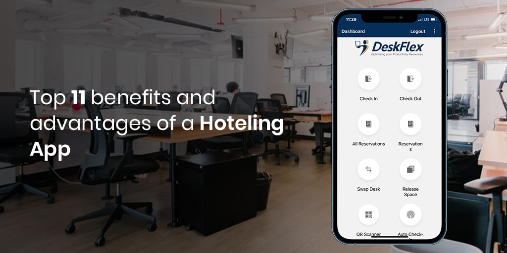 advantages of hoteling app